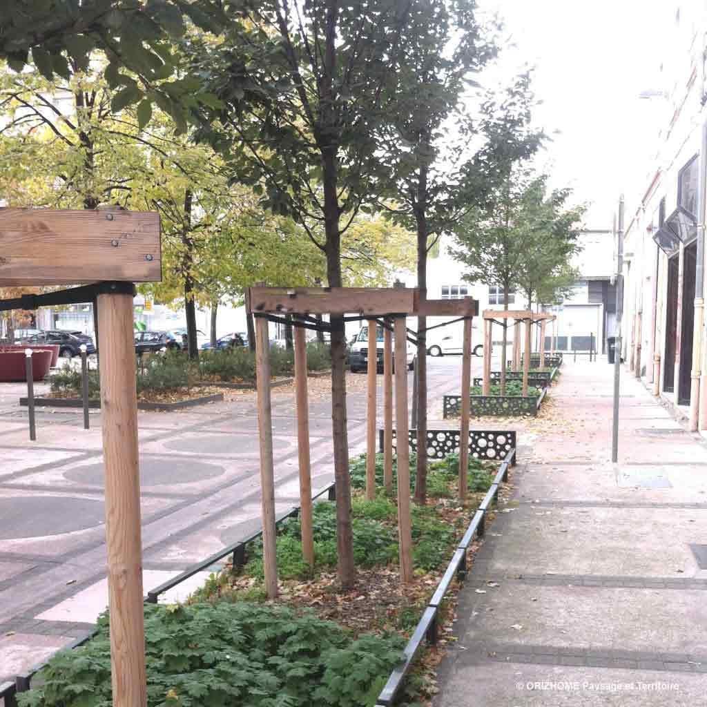 rue Teinturiers après travaux